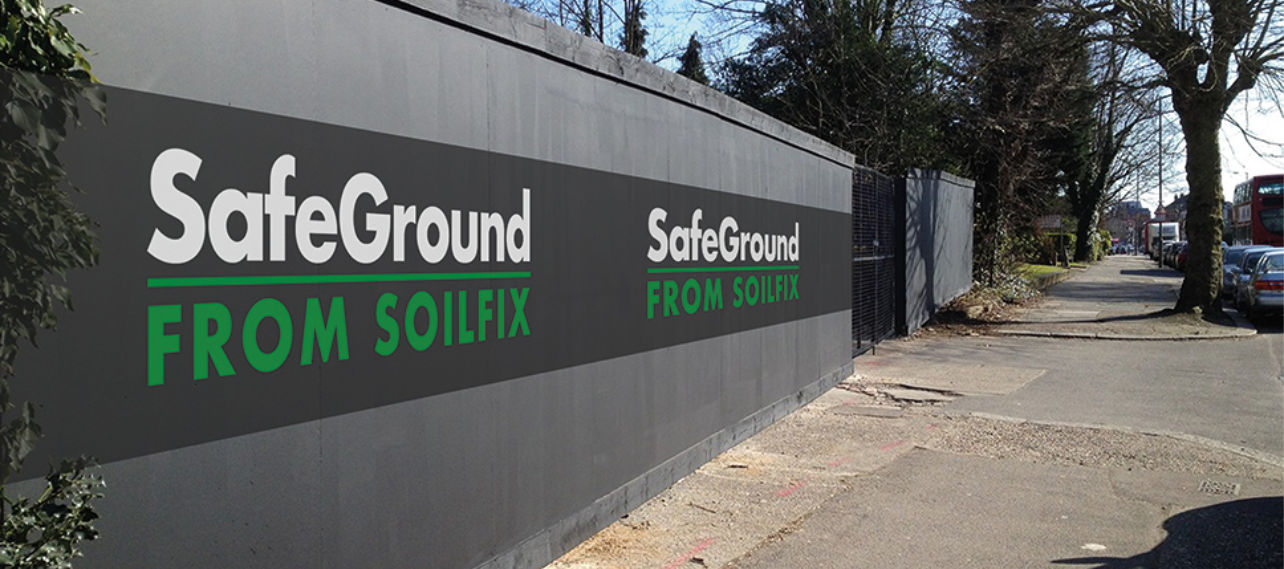 SafeGround Hoarding Soilfix